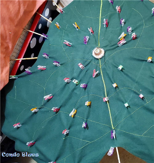 how to make a new umbrella cover top