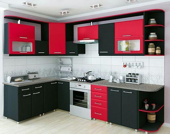 Ide Desain Kitchen Set Minimalis Bentuk L