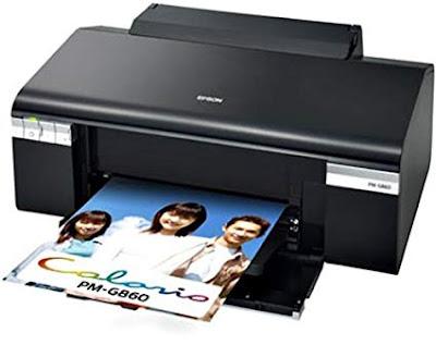 Epson Colorio PM-G860ドライバーダウンロード