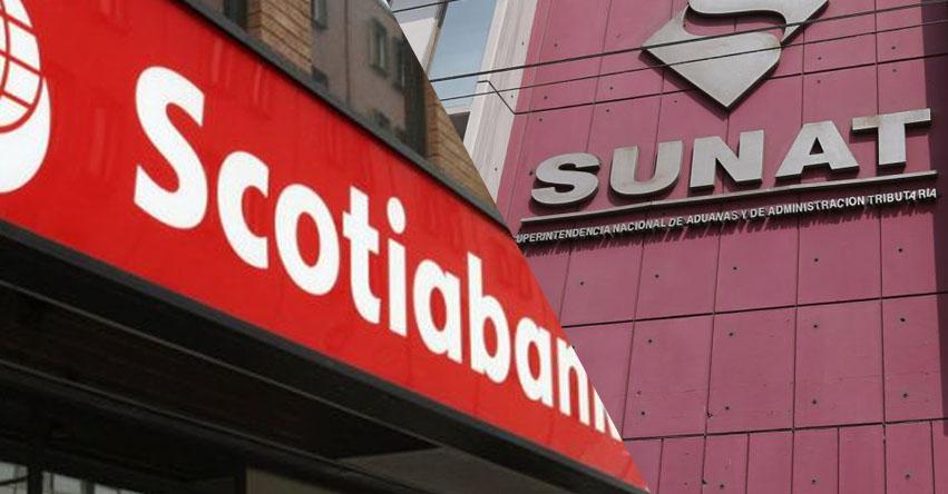 INCREÍBLE: Scotiabank no pagaría intereses moratorios por deuda con la SUNAT si el TC falla a su favor