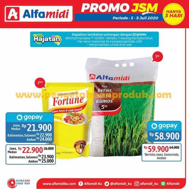 Katalog Promo JSM Alfamidi Periode 3 - 5 Juli 2020