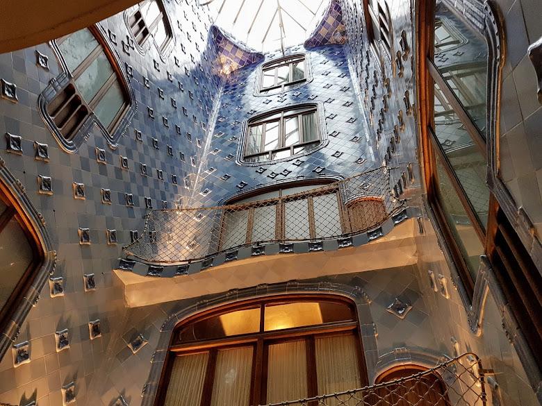 巴特婁之家的天井