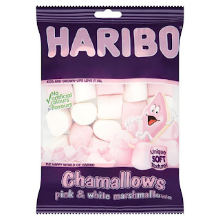 Haribo Chamallows Pink and White Marshmallows 150g Special Price £1.00 Amazon Pantry