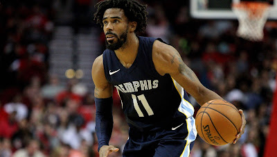 NBA SPORTSMANSHIP AWARD   Mike Conley  He won in 2014, 2016 and 2019.