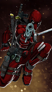 Deadpool Gun Mobile HD Wallpaper