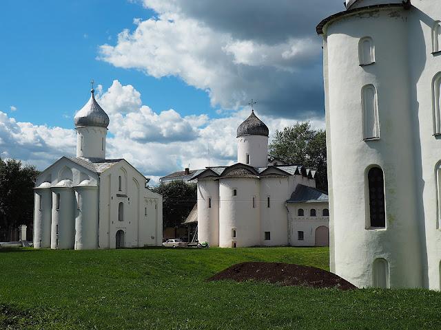 Великий Новгород, Ярославово дворище (Veliky Novgorod, Yaroslav's Courtyard)