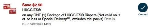 huggies cvs app coupon