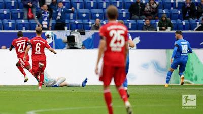 ملخص واهداف مباراة بايرن ميونخ وهوفنهايم (1-4) الدوري الالماني
