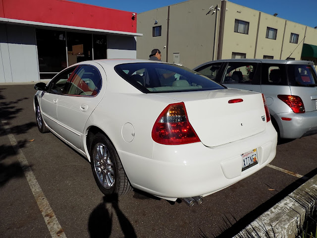 Whole car paint job on 2002 Chrysler 300M at Almost Everything Auto Body.