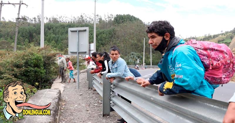 XENOFÓBIA | Comerciantes no permiten que los venezolanos trabajen en Ecuador