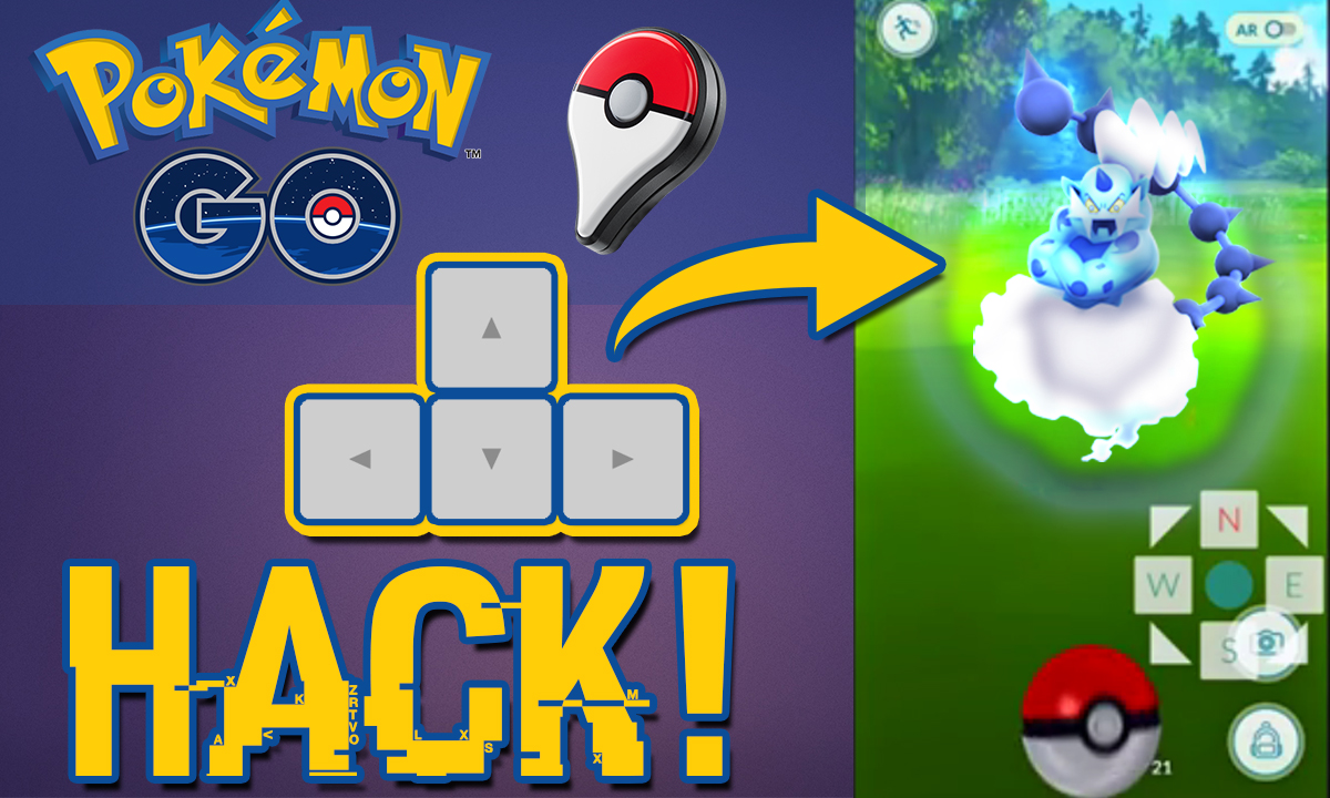 Pokemon Go Ultimate HACK / MOD to Catch Rare Pokemons & Enable Joystick (Play Without Walking ...