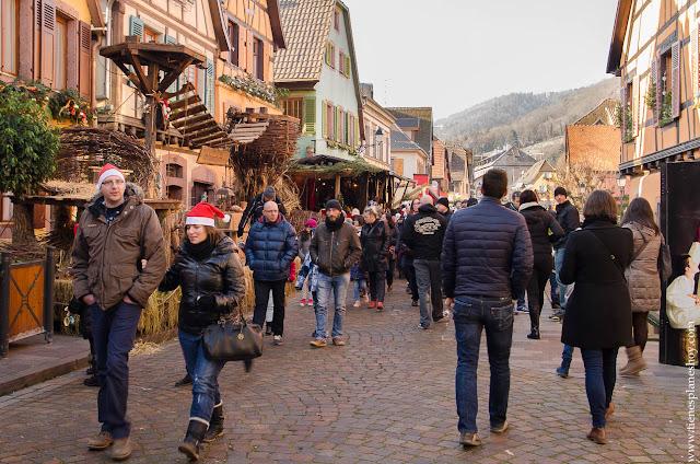 RIbeauville Alsacia viaje