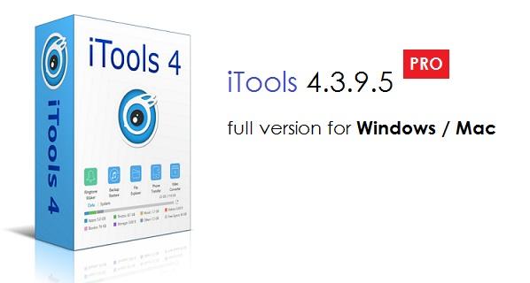 iTools 4 3 9 5 (Windows) / 1 7 8 7 (Mac) - Pro Mac Device