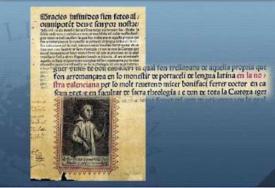 Li pague mil millons d'euros a qui em demostre una Biblia en dialecte català anterior a esta del 1477 en idioma valencià.