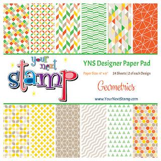 Designer Paper Pad - Geometrics