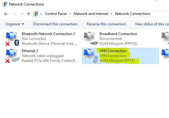 Windows server 2016 vpn site to site