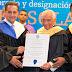 Compositor puertoplateño Rafael Solano fue investido como Profesor Honorario de la UASD