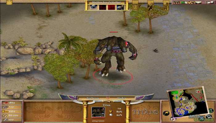 Download Age Of Mythology The Titans For PC