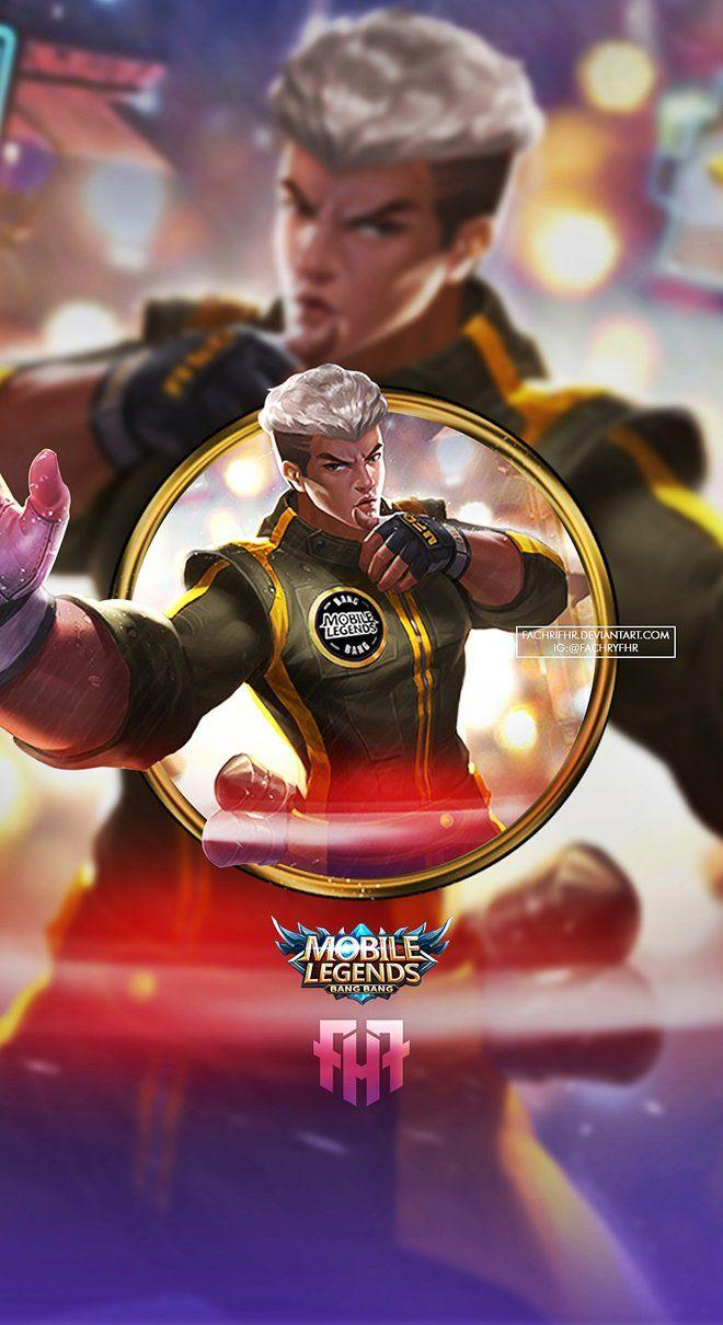 Wallpaper Chou Kung-Fu Boy Skin Mobile Legends Full HD for Android and iOS