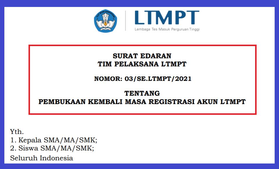 gambar registrasi akun ltmpt dibuka