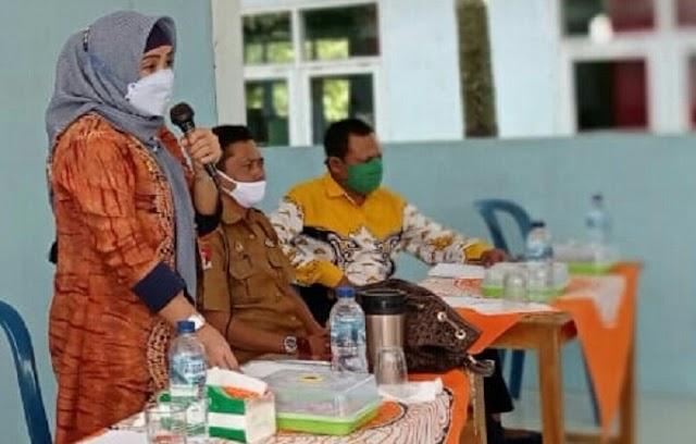 Mardiana.MT, Anggota DPRD Prov Lampung Serap Aspirasi di Kab.Lampung Utara