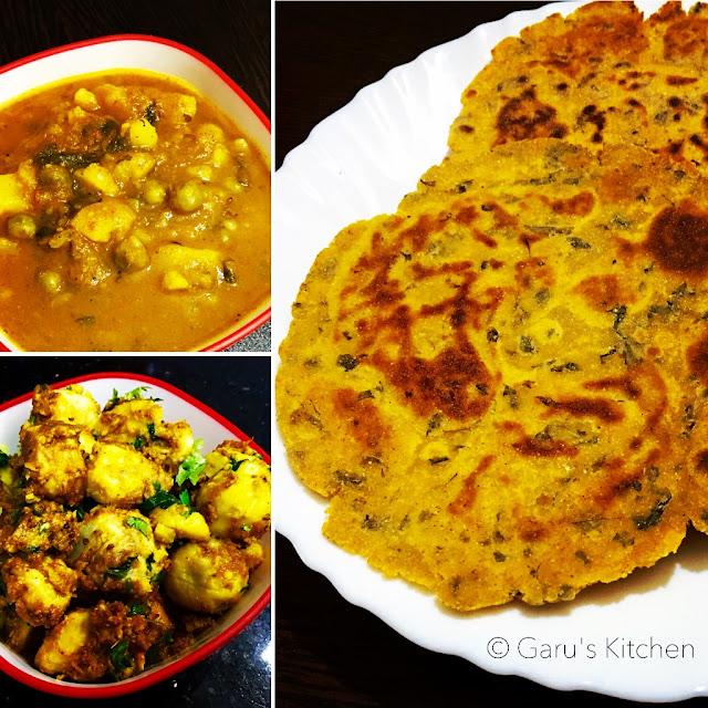 methi makka ka paratha recipe | methi makai paratha recipe