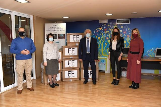 Ο Όμιλος FF Group στηρίζει τα παιδιά του MKO «Κιβωτός του Κόσμου»