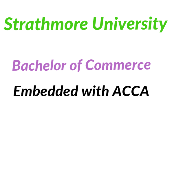 ACCA embedded with commerce strathmore university