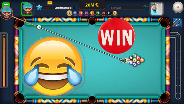 The win from the first strike 9 ball pool