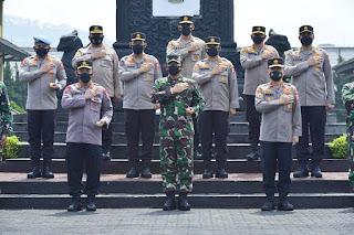 Bentuk Kekompakan Panglima dan Kapolri Kunjungi Lembaga Pendidikan TNI dan Polri