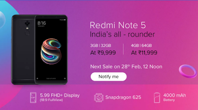 buy Redmi Note 5