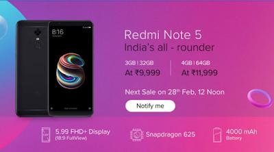 buy Redmi Note 5