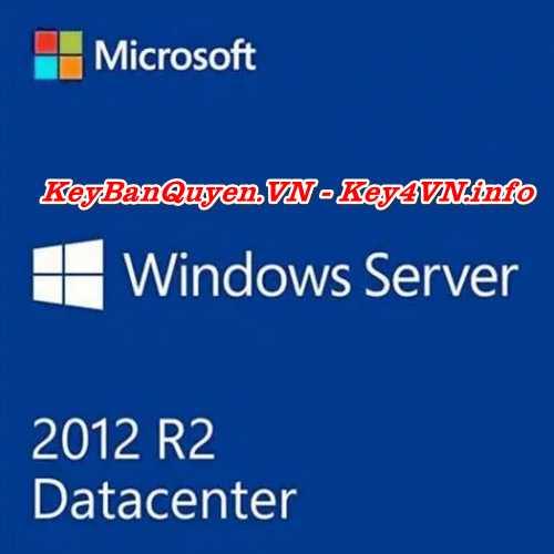 Mua bán key bản quyền Windows Server 2012 Datacenter.