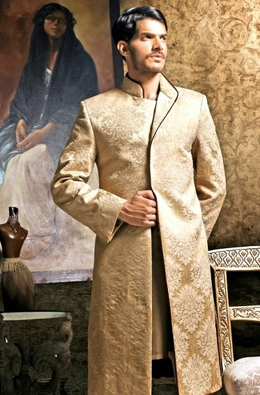 ab9ddb7bce Bridal And Groom Wedding Wear Suits   Naushemian Couture Collection ...