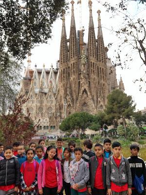 Sortida Sagrada Familia