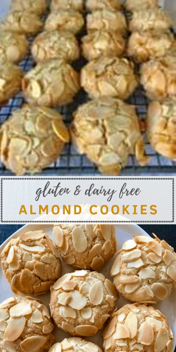 Almond Cookies - Gluten and Dairy Free