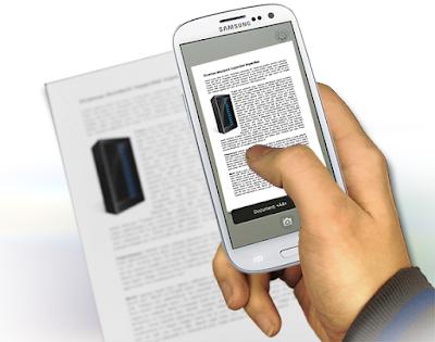 تطبيق يحول هاتفك الى سكانر للتحميل