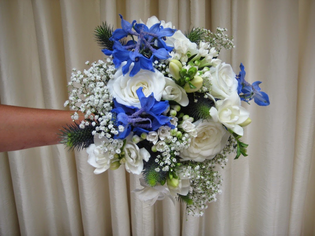 delphinium bouquet - photo #22