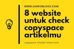 8 website untuk cek copyspace artikel mu