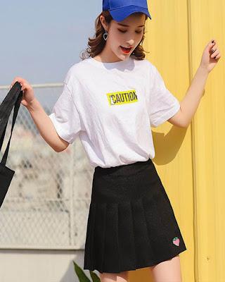outfit coreano casual de verano