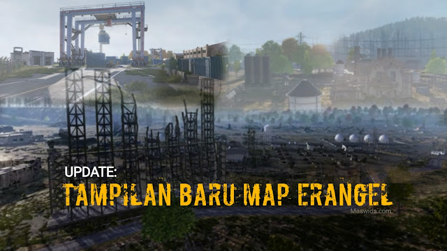 update tampilan baru map erangel pubg mobile