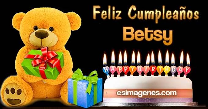 Feliz Cumpleaños Betsy