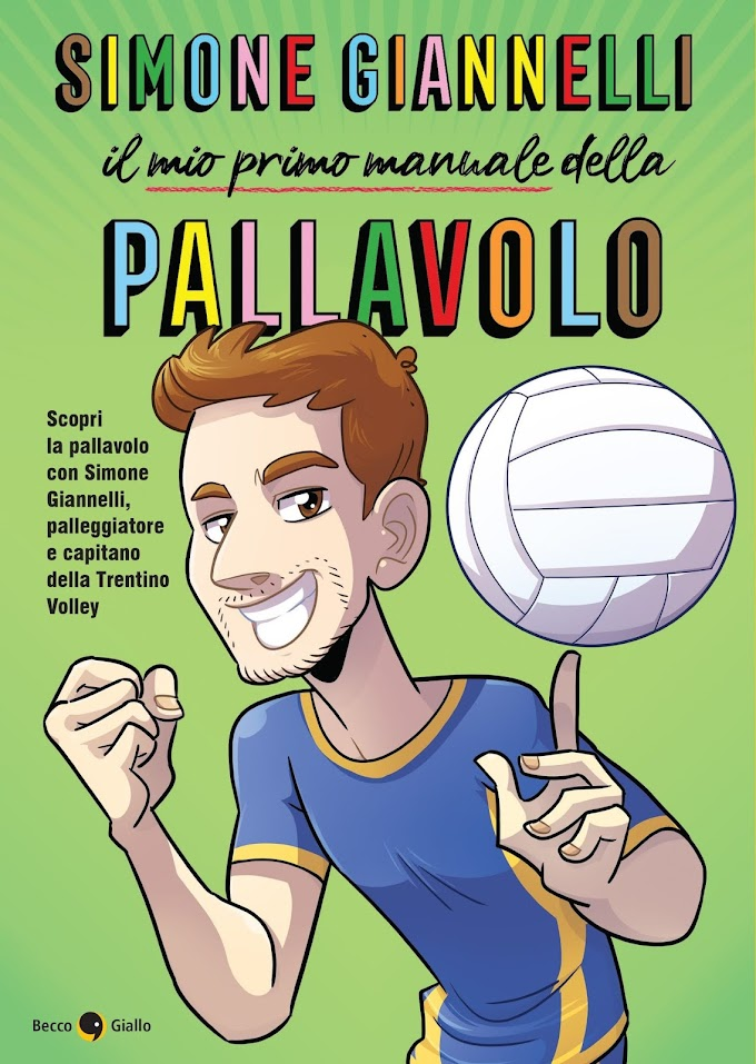 """Simone Giannelli diventa un fumetto: il 22 aprile esce """"Il mio primo manuale della pallavolo"""""""