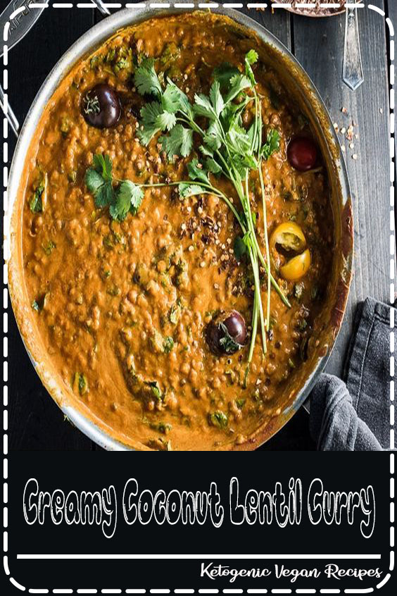 This easy to make Creamy Coconut Lentil Curry is a healthy vegan recipe that makes a perfect Meatless Monday dinner recipe. It takes less than an hour (mostly hands-off time) to make and is packed full of delicious Indian flavors. Make extras and you'll have a giant smile on your face at lunch the next day. | vegan + gluten-free | ✨ If you love this Creamy Coconut Lentil Curry as much as I do, make sure to give it a 5-star review in the comments below