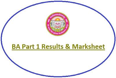 Jaunpur University BA 1st Year Result 2021