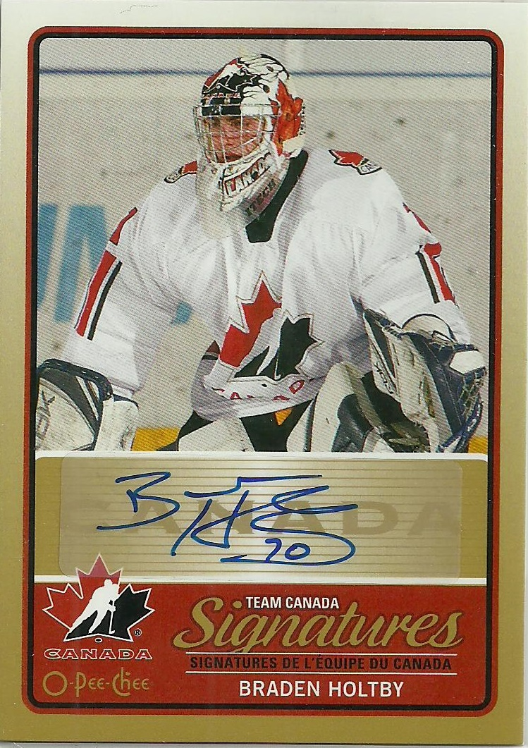 on sale 748cd 9fe3b Hell's Valuable Collectibles: Braden Holtby Autograph Card
