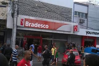 Vigilante e suspeito são mortos em tentativa de assalto a Bradesco