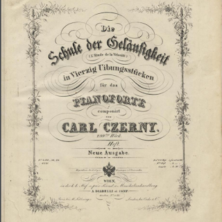 Lezione su uno studio di Czerny