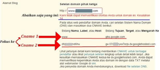 Cara Mengganti Domain Blogspot Menjadi .Com Gratis Hosting Selamanya di Blogger.Com