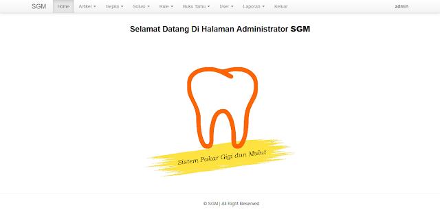 Sistem Pakar Penyakit Gigi dan Mulut